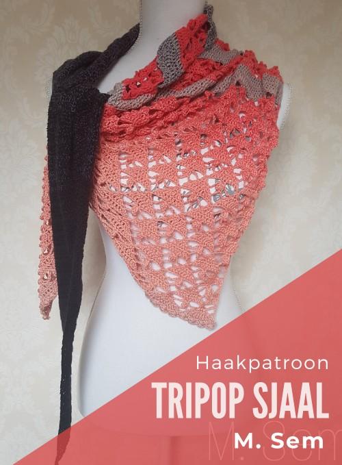 Haakpatroon Tripop Sjaal haken