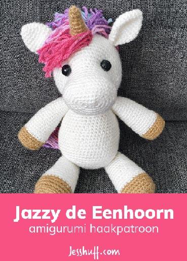 Haakpatroon Jazzy de Eenhoorn