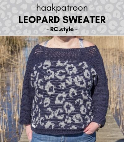 Haakpatroon Leopard Sweater haken