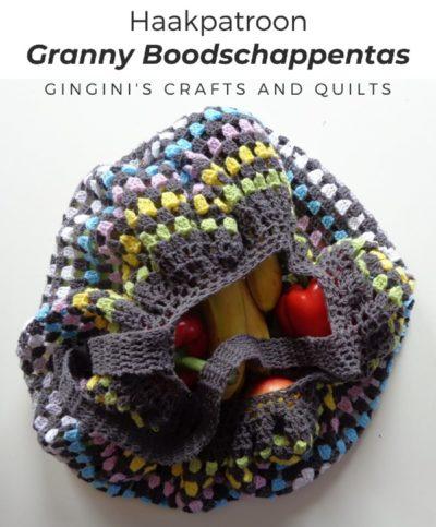 Haakpatroon Granny Boodschappentas Haken