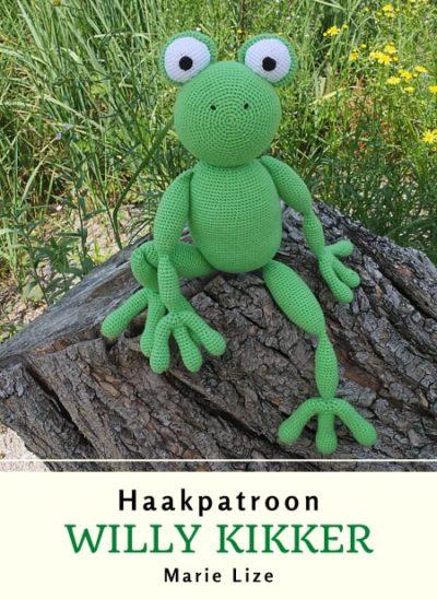 Haakpatroon Willy Kikker Haken