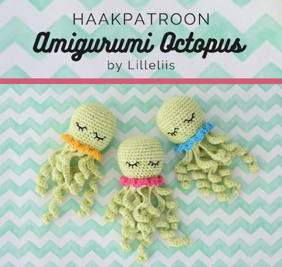 Haakpatroon Amigurumi Octopus