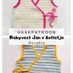 Haakpatroon Babyvest Jan en Sofietje