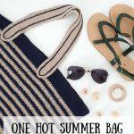 Haakpatroon One Hot Summer Beach Bag