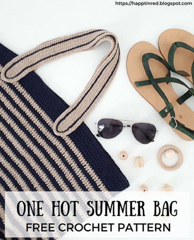 Haakpatroon One Hot Summer Beach Bag