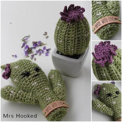 Haakpatroon Lavendel Cactus