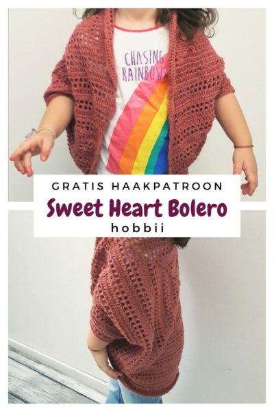 Haakpatroon Sweet Heart Bolero