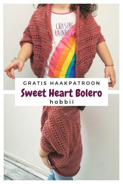Haakpatroon Sweet Heart Bolero