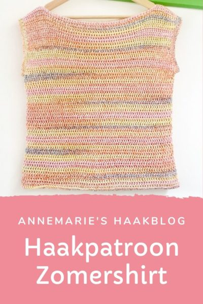 Haakpatroon Zomershirt