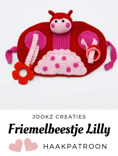Haakpatroon Friemelbeestje Lilly