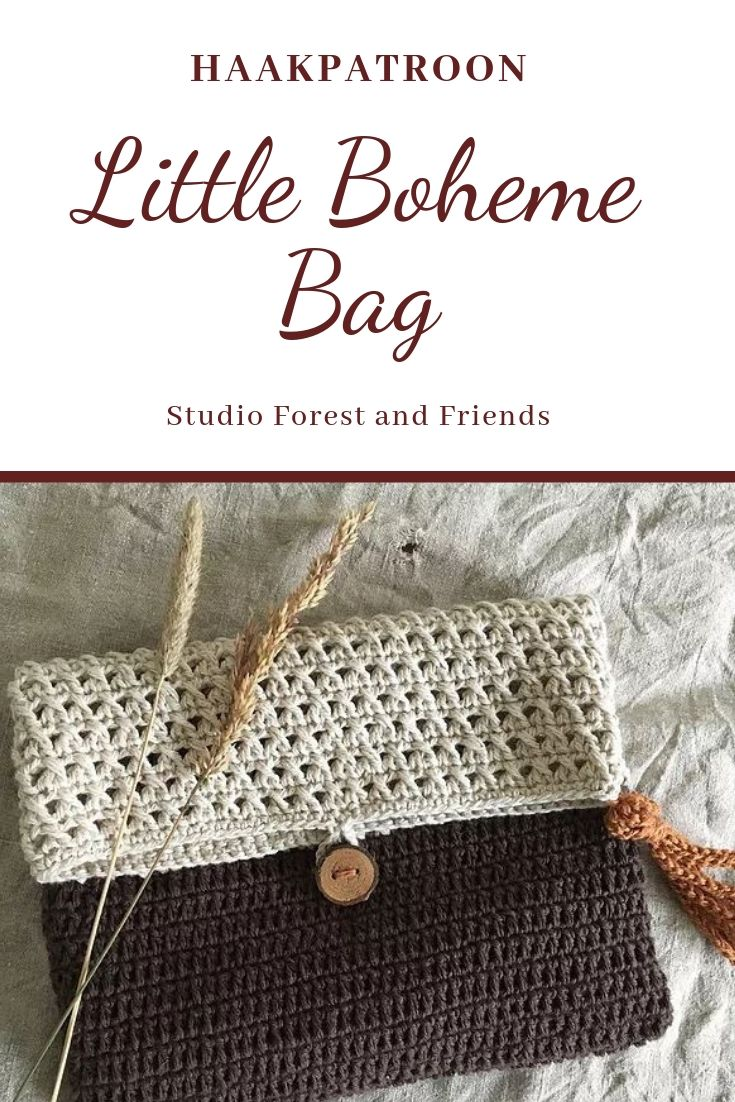Haakpatroon Little Boheme Bag