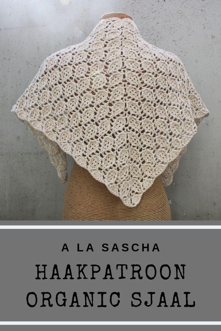 Haakpatroon Organic Sjaal