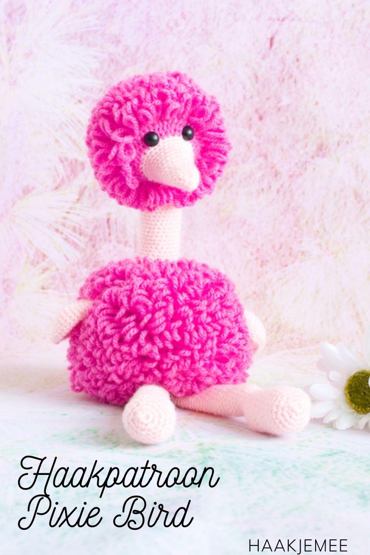Haakpatroon Pixi Bird