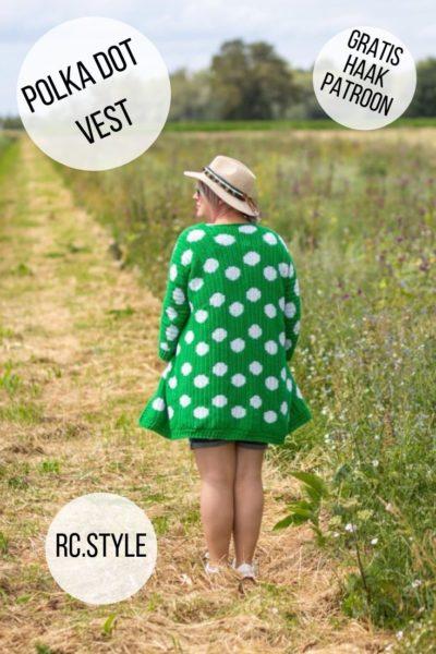 Haakpatroon Polka Dot Vest