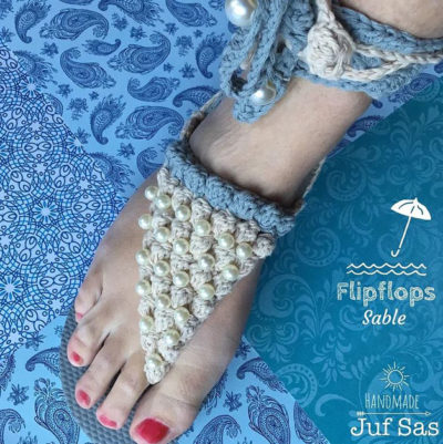 Haakpatroon Sable Flipflops