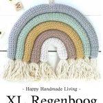 Haakpatroon XL Regenboog