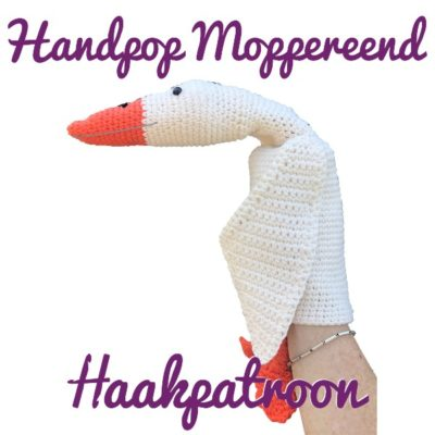 Haakpatroon Handpop Moppereend
