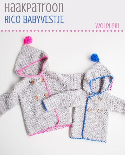 Haakpatroon Rico Babyvestje Haken