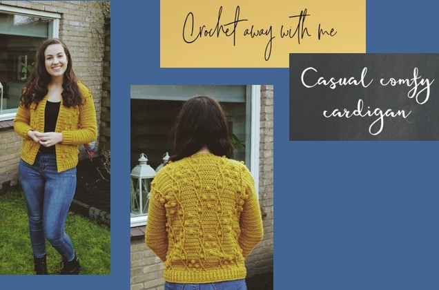 Haakpatroon Casual Comfy Cardigan