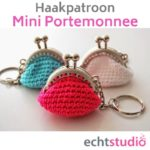 Haakpatroon Mini Portemonnee