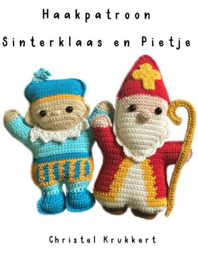 Haakpatroon Sinterklaas en Pietje