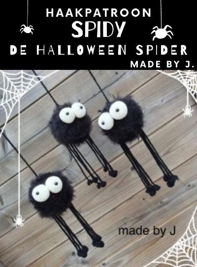 Haakpatroon Spin Spidy Halloween