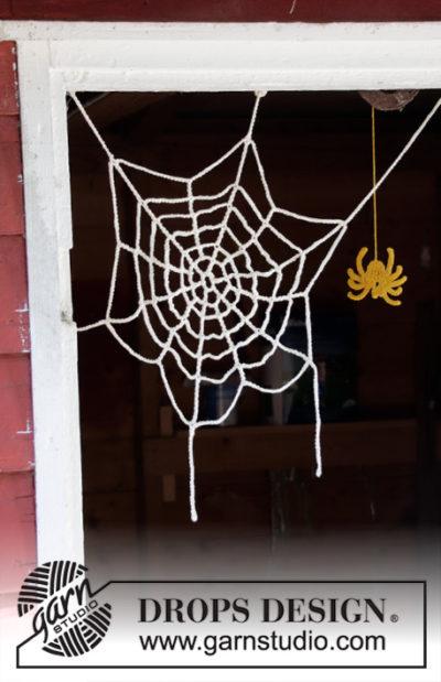 Haakpatroon Spinnenweb