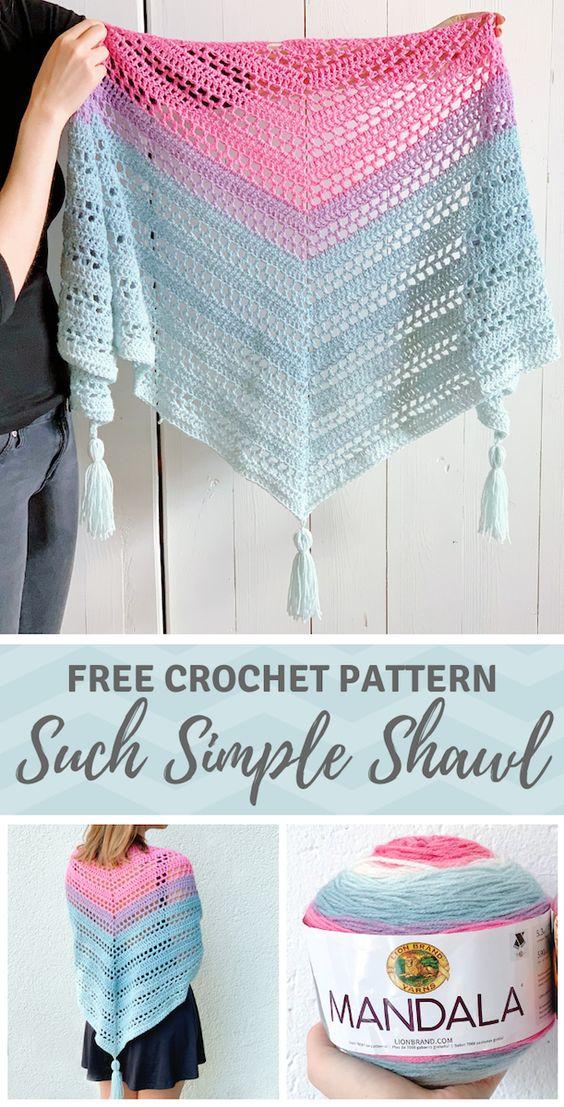 Haakpatroon Such Simple Sjaal
