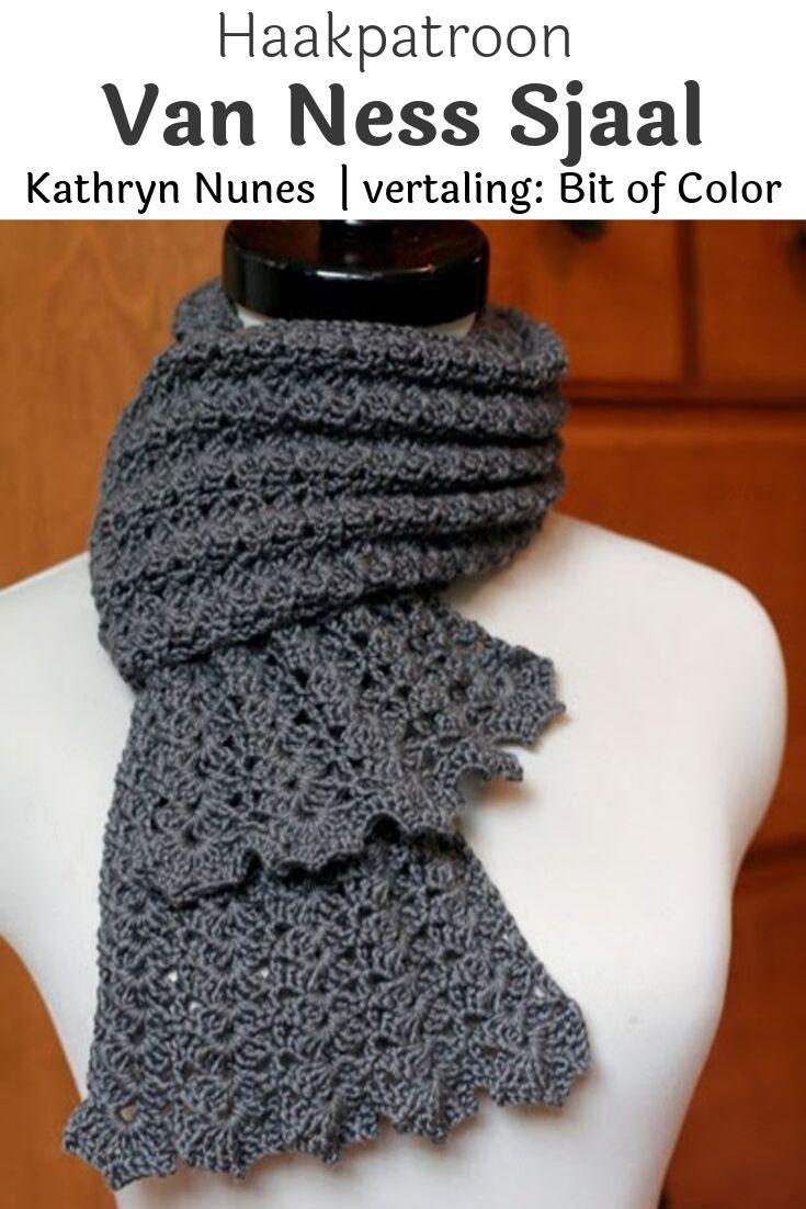 Haakpatroon Van Ness Sjaal