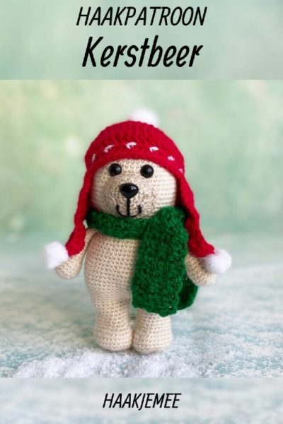 Haakpatroon Kerstbeer
