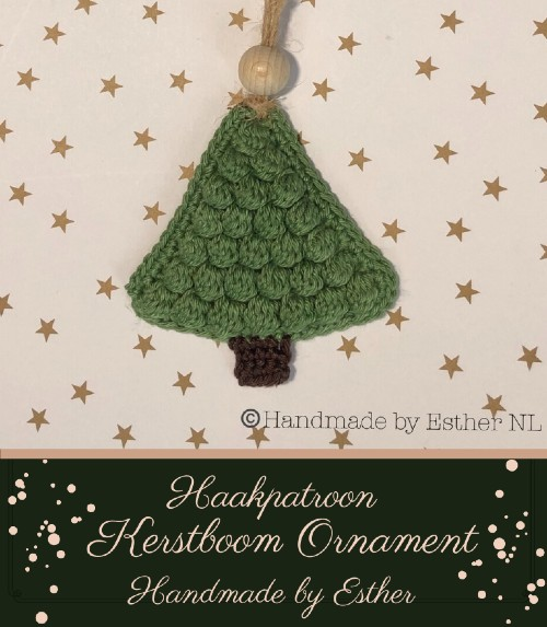 Haakpatroon Kerstboom Ornament