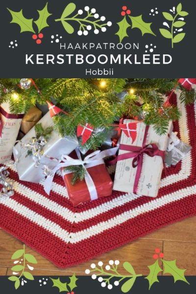 Haakpatroon Kerstboomkleed