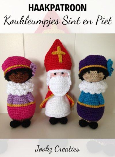 Haakpatroon Koukleumpjes Sint en Piet