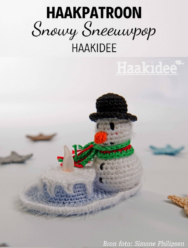 Haakpatroon Snowy Sneeuwpop