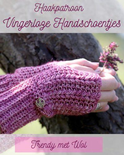 Haakpatroon Vingerloze Handschoentjes