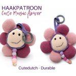 Haakpatroon Cute Music Flower