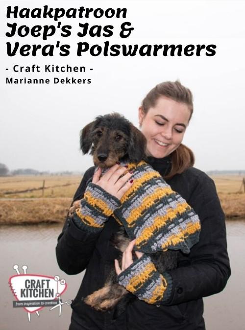 Haakpatroon Joep's Jas & Vera's Polswarmers