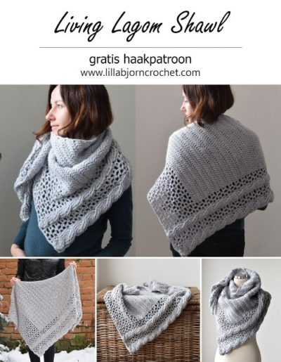 Haakpatroon Living Lagom Shawl