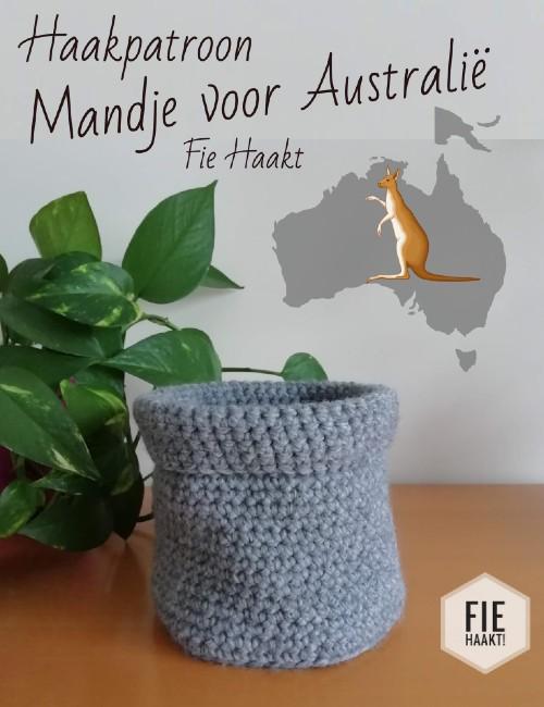 Haakpatroon Mandje voor Australië