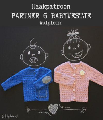 Haakpatroon Partner 6 Babyvestje