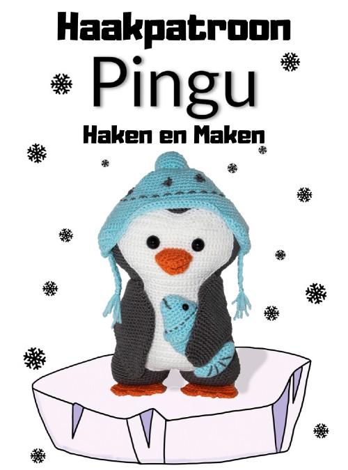 Haakpatroon Pingu Pinguïn