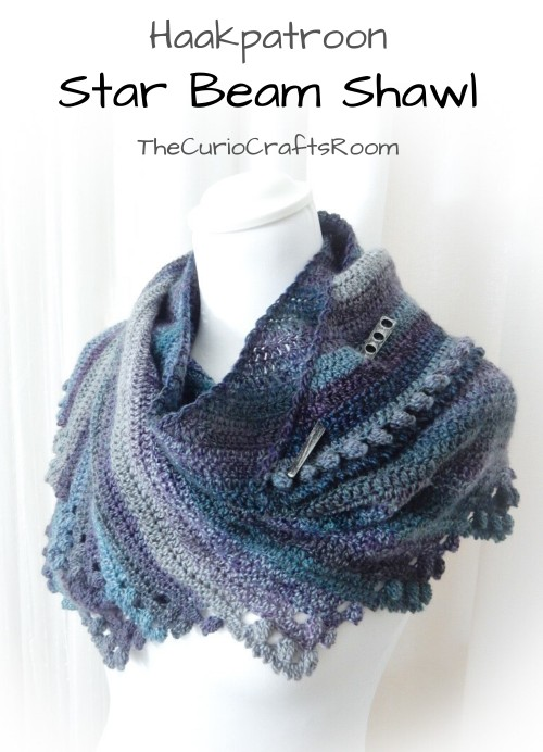 Haakpatroon Star Beam Shawl