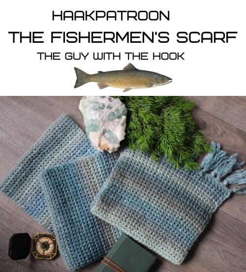 Haakpatroon The Fishermen's Scarf