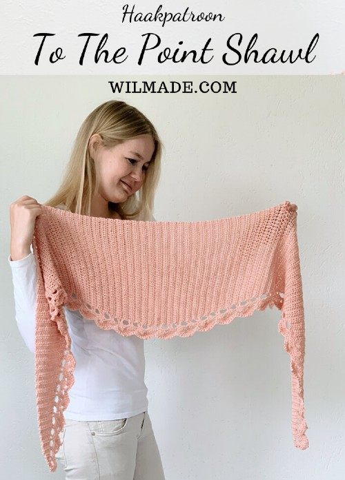 Haakpatroon To the Point Shawl