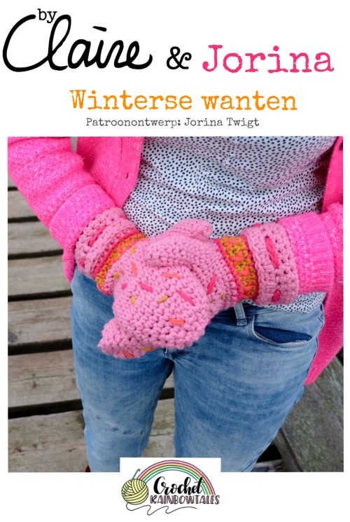 Haakpatroon Winterse Wanten