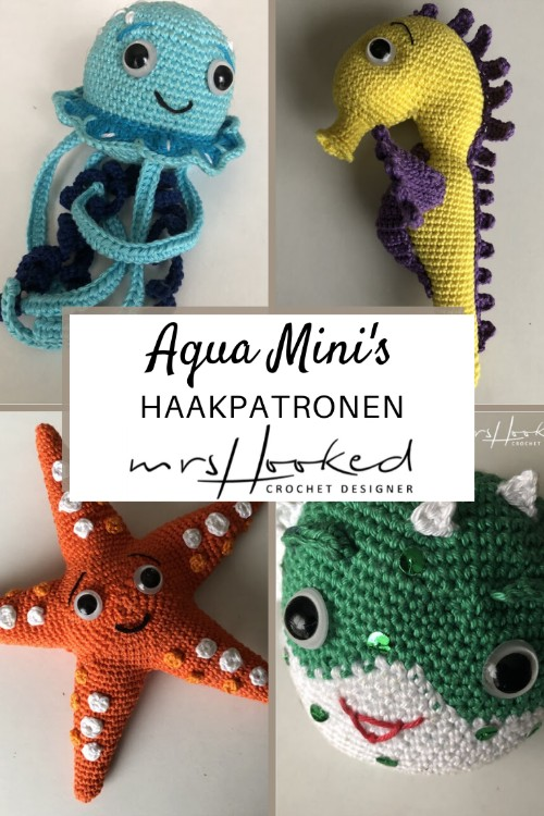 Haakpatroon Aqua Mini's