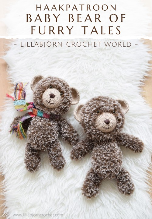 Haakpatroon Baby Bear of Furry Tales haken