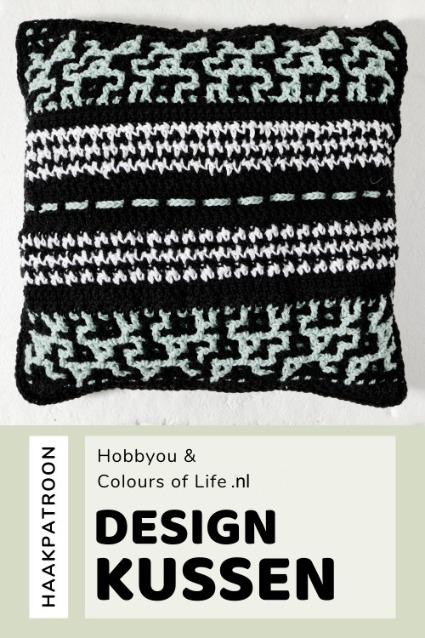 Haakpatroon Design Kussen