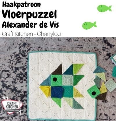 Haakpatroon Vloerpuzzel Alexander de Vis