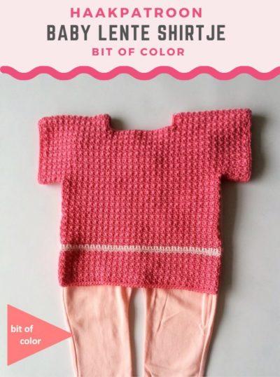 Haakpatroon Baby Lente Shirtje